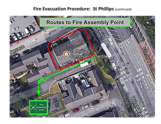 03 - St Phillips fire assembly point